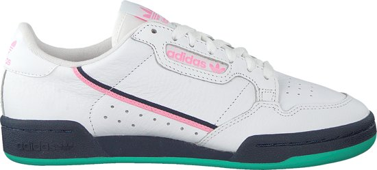 Adidas Dames Sneakers Continental 80 W - Wit - Maat 40
