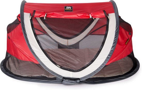 Deryan Peuter Luxe - Campingbedje - Rood