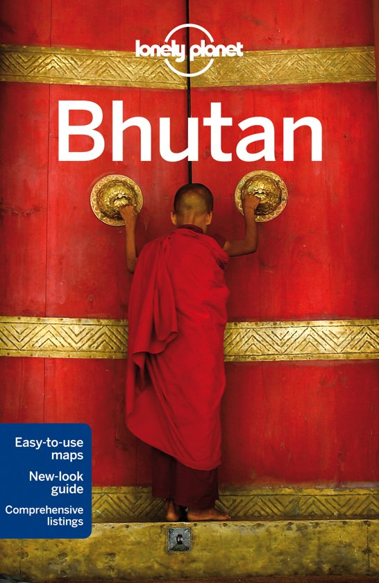 Lonely Planet reisgids Bhutan