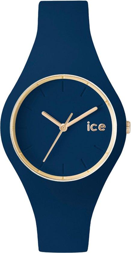 Ice-Watch IW001059 horloge dames en heren - blauw - siliconen