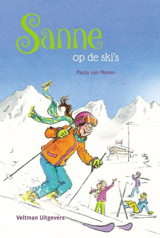 Afbeelding van Sanne - Sanne op de skis