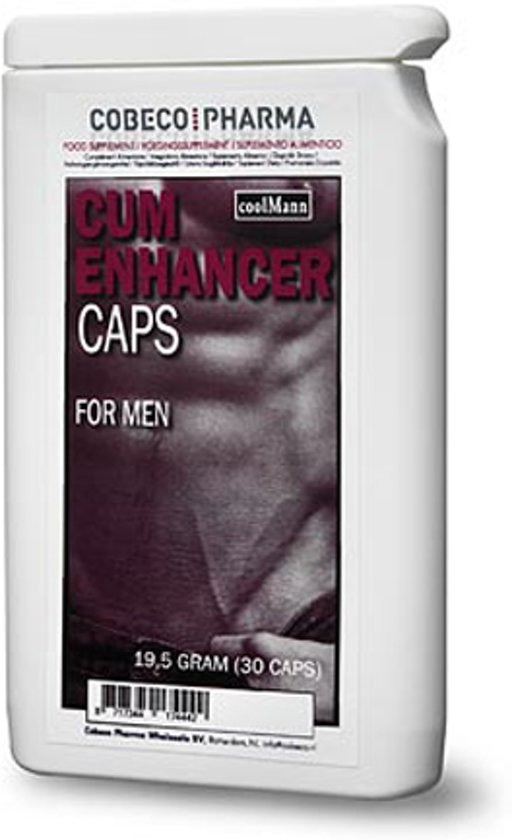 CoolMann Cum Enhancer For Men Flatpack - 30 stuks