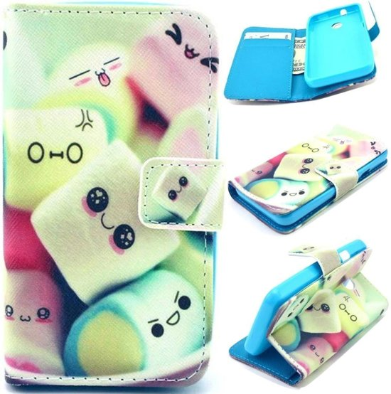 iCarer Candy wallet case hoesje Alcatel One Touch Pixi 4 (6)