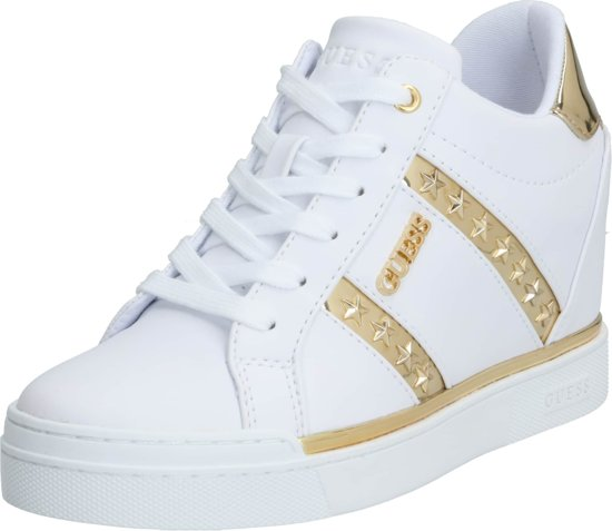 Guess sneakers laag fayne Goud 41