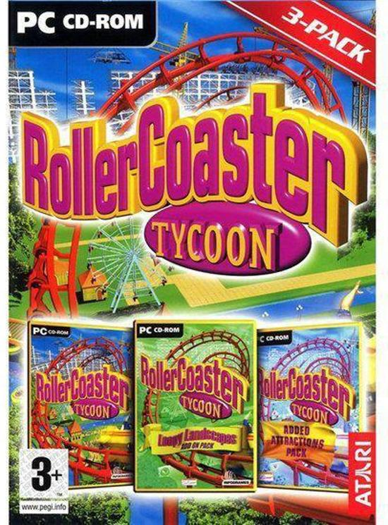 Rollercoaster Tycoon 1 + Added Attractions + Loopy Landscapes S