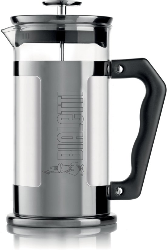 Bialetti French Press - Glas - 1 l