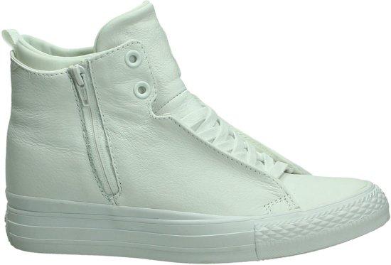 982677f23f8 bol.com | Converse - Selene - Sneaker hoog - Dames - Maat 36 - Wit ...