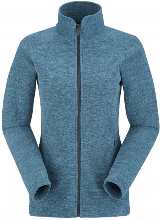 40 Women Blauw Jacket Dames Maat Eider Glad Fleecevest ATq61z1