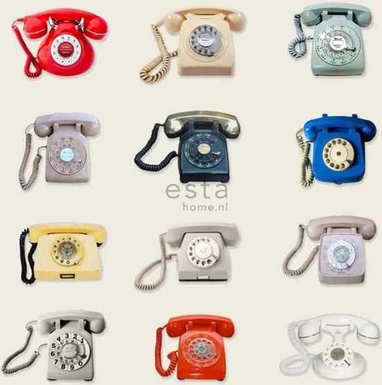 Esta Home Brooklyn Bridge WallpaperXXL Retro Telephones