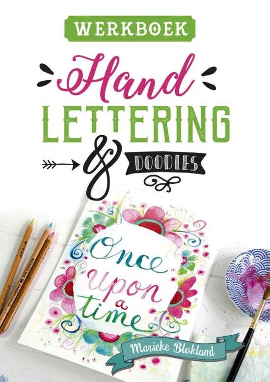 Werkboek handlettering & doodles