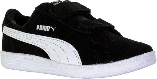 ee7bc0c827a Puma Smash Fun SD Velcro PS Sportschoenen - Maat 29 - Unisex - zwart/wit