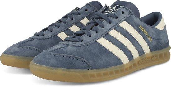 adidas Hamburg W schoenen blauw wit