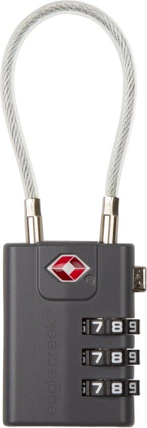 Eagle creek Cable Kofferslot - TSA Slot - Grijs
