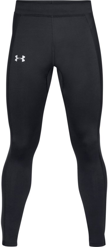 Under Armour Coldgear Run Tight Heren Sport Hardlooplegging - Zwart - Maat XL