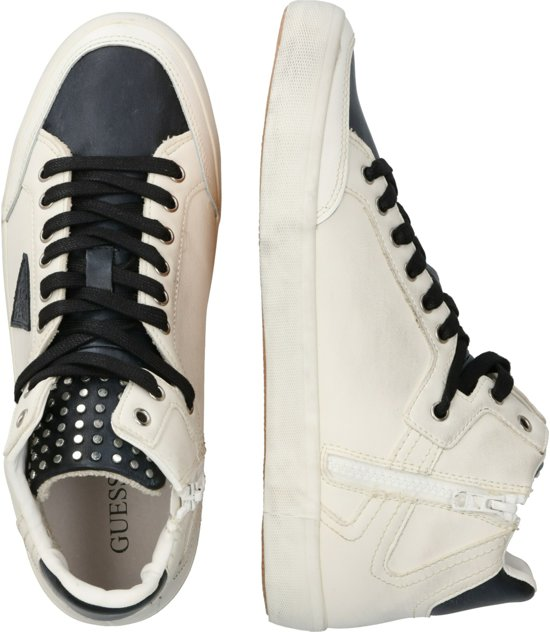 Guess sneakers hoog statement hi Wit 42