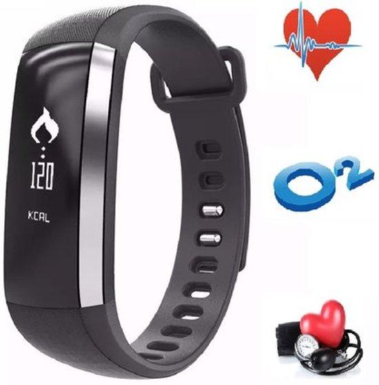 Fitness Activity Tracker, Hartslagmeter, Bloeddrukmeter, Zuurstofmeter,