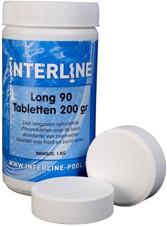 Interline Zwembad Interline chloortabletten - 200 grams, 1 kg