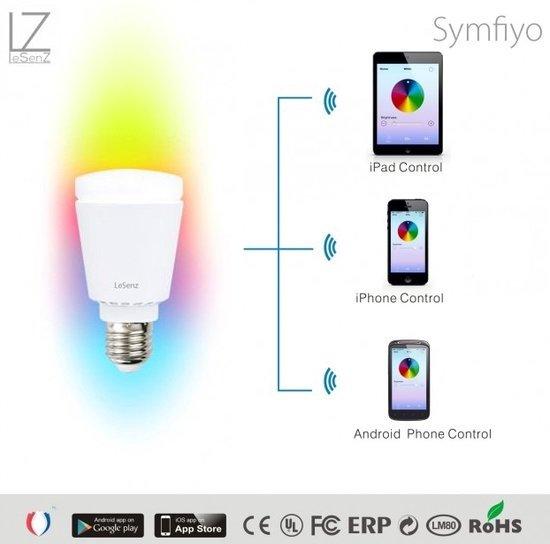 Lesenz Lamp Simfiyo Rgb Led Bluetooth fyvbYg76