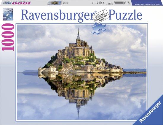 Ravensburger puzzel Mont-Saint-Michel - Legpuzzel - 1000 stukjes