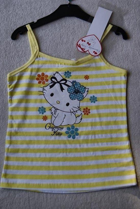 74adda08949 Hello Kitty topje Charmmy Kitty, geel maat 114