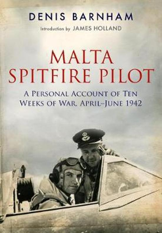 Boek cover Malta Spitfire Pilot van Denis Barnham (Paperback)