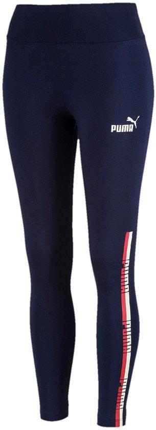 PUMA Tape Leggings Sportlegging Dames - Peacoat