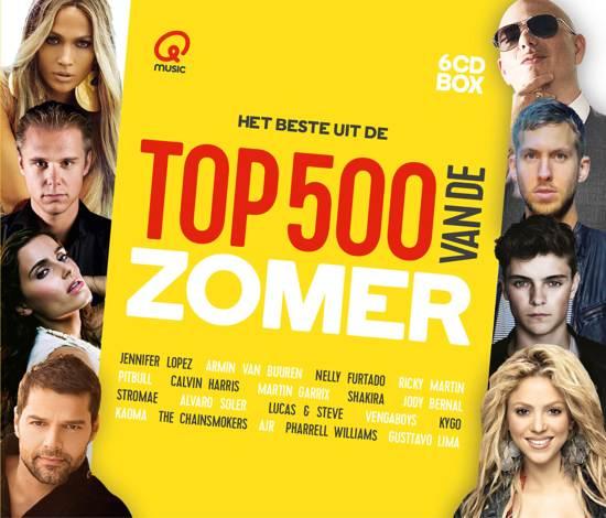 Qmusic: Het Beste Uit De Top 500 Van De Zomer - 2017