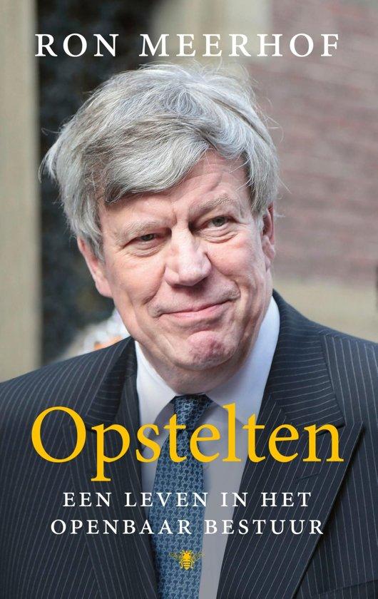 Boek cover Opstelten van Ron Meerhof (Onbekend)
