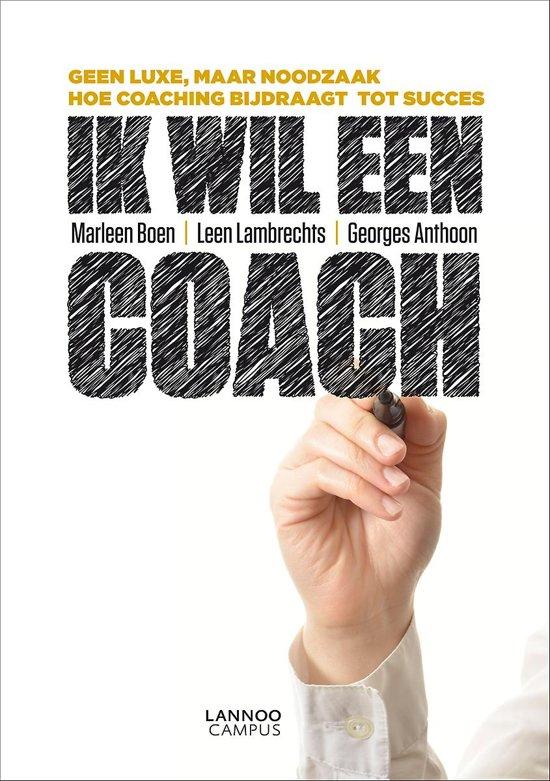 Cover van het boek 'Ik wil een coach'