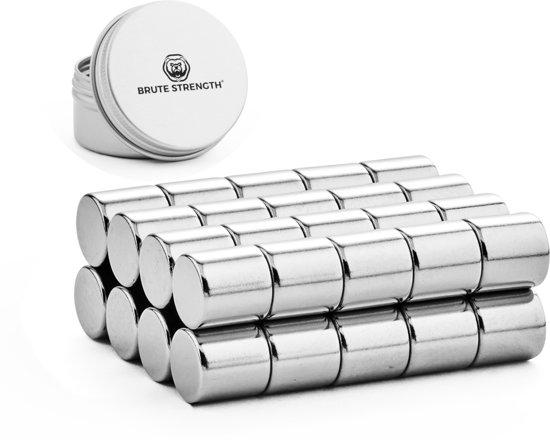 Super sterke magneten - Rond - 10 x 10 mm - 20 stuks