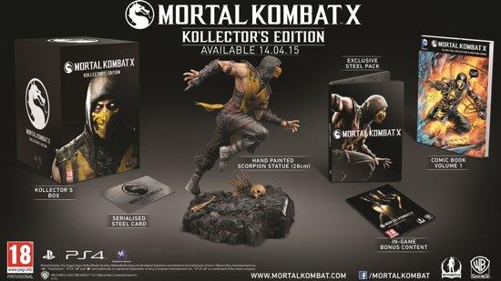 Mortal Kombat X Kollectors Edition Ps4