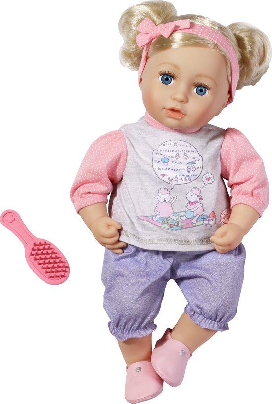 Bol Com Baby Annabell 174 Sophia Zo Zacht Babypop Zapf