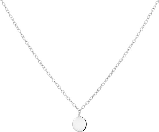 The Fashion Jewelry Collection Ketting Rondje 1,2 mm 40 - 42 - 44 cm - Zilver