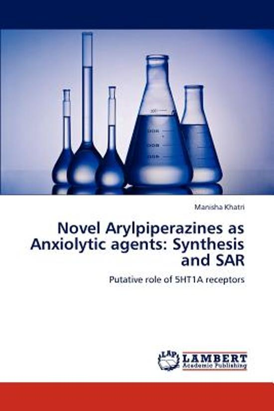 Novel Arylpiperazines as Anxiolytic Agents