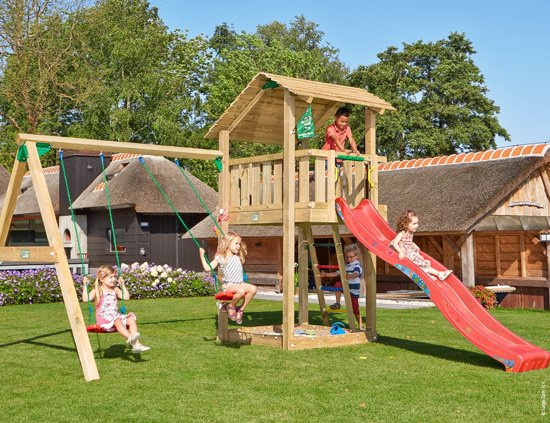 Bol jungle gym u shelter swing speeltoren tuin met