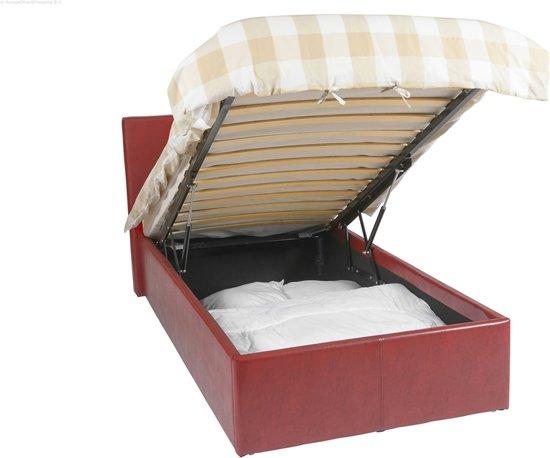 Phenomenal Bol Com Ottoman Bed Frame Met 393 Liter Opbergruimte Ibusinesslaw Wood Chair Design Ideas Ibusinesslaworg