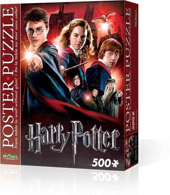 Wrebbit Poster Puzzel Harry Potter Hogwarts School - 500 stukjes