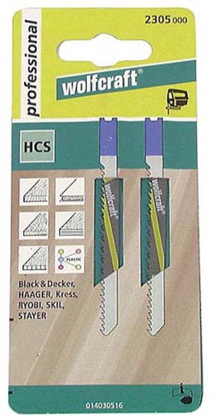 Decoupeerzaagblad plaatstaal, aluminium, U-schacht