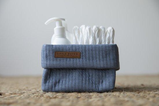 Little Dutch Aankleedkussenhoes - pure blue