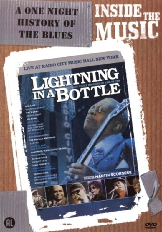 Cover van de film 'Lightning In A Bottle'