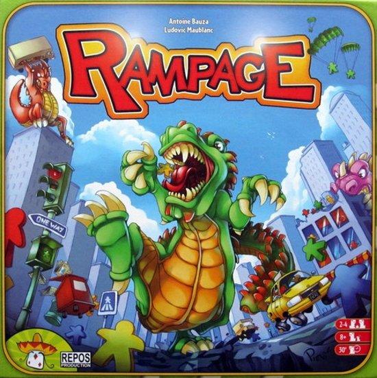 Afbeelding van het spel Rampage Board Game