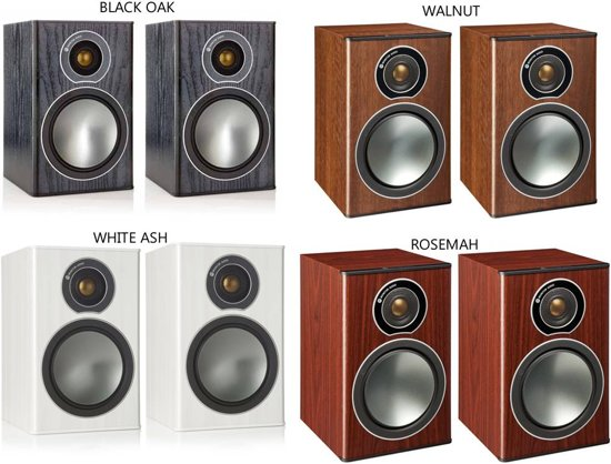 Monitor Audio Bronze 1 - Wit - Boekenplank Speaker