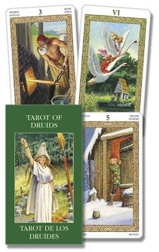 Tarot of Druids/Tarot de Los Druidas/Druiden Tarot/Tarot Des Druides/Tarocchi Dei Druidi