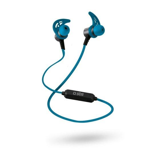 SBS Mobile Runner Magnetic earphones, BT 4.1, Blue