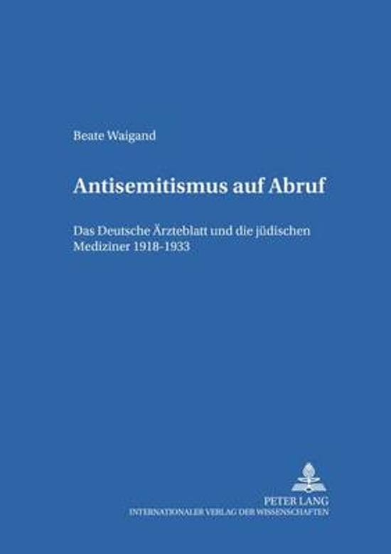 Antisemitismus Auf Abruf