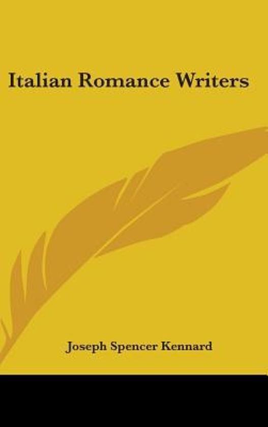 Italian Romance Writers