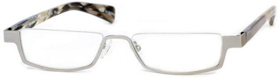 Leesbril Peek Performer 2144 H1 mat zilver/grijs