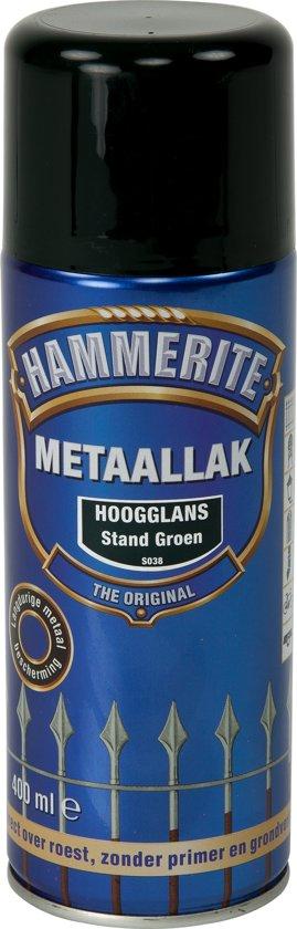 bol.com | Hammerite Hoogglans Standgroen S038 400ML