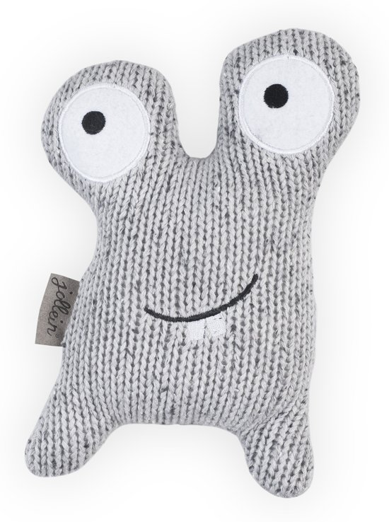 Jollein Confetti Monster Knuffel Grey