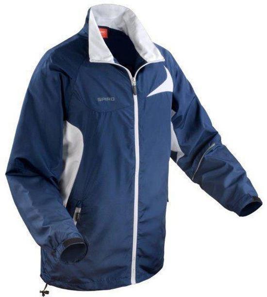 White 4xl Jacket Micro lite Spiro Kleur Navy Team Maat HxzqYgR